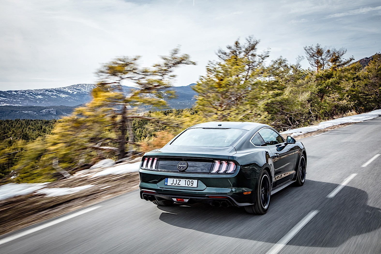 less powerful ford mustang bullitt to sell in europe shows up in geneva autoevolution. Black Bedroom Furniture Sets. Home Design Ideas