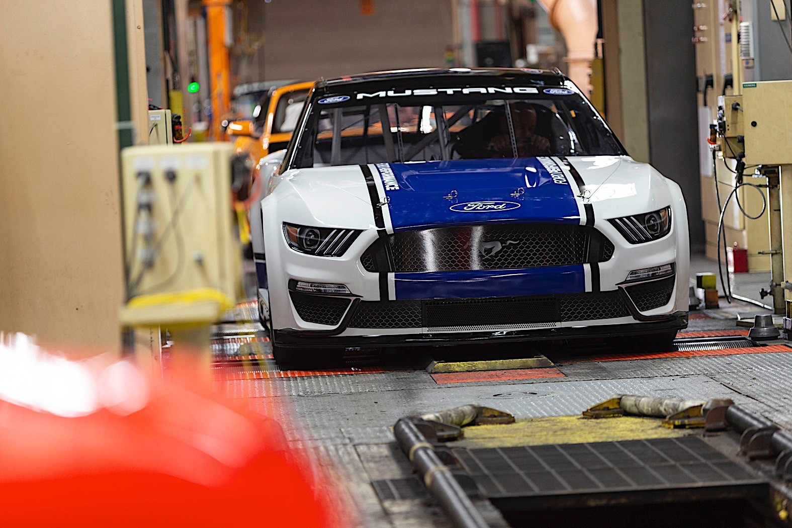 Ford Mustang Monster Energy NASCAR Cup Revealed, Details Still Scarce - autoevolution