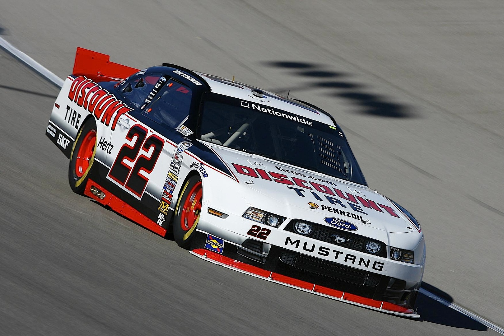 Ford Mustang Wins First Nascar Nationwide Race In 2014