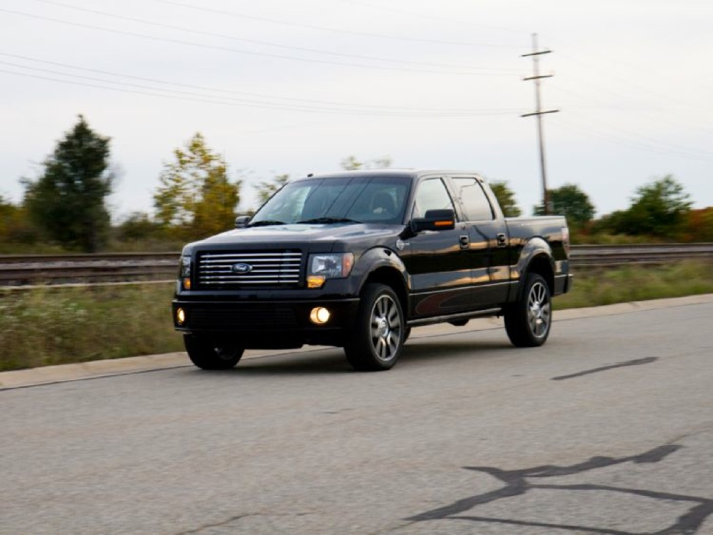 2008 Ford F150 Harley Davidson Edition Reviews >> Ford Presents 2010 F-150 Harley Davidson Edition - autoevolution