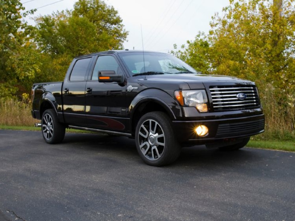Used Ford Raptor >> Ford Presents 2010 F-150 Harley Davidson Edition - autoevolution