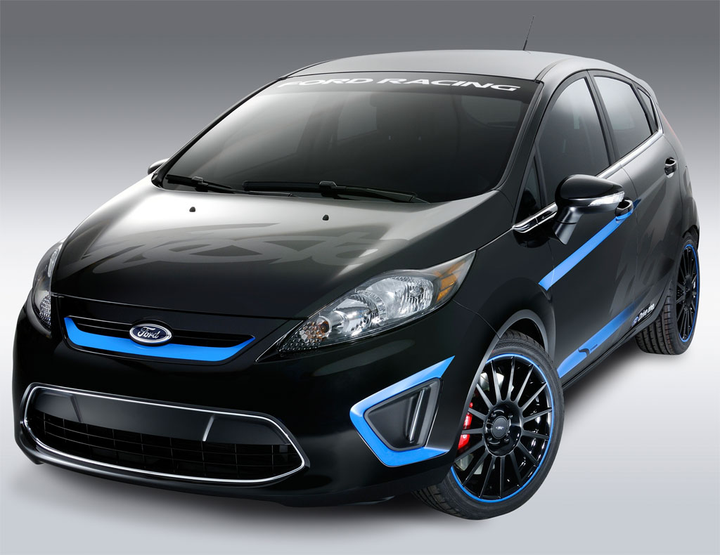 ford presents custom fiesta in la autoevolution. Black Bedroom Furniture Sets. Home Design Ideas