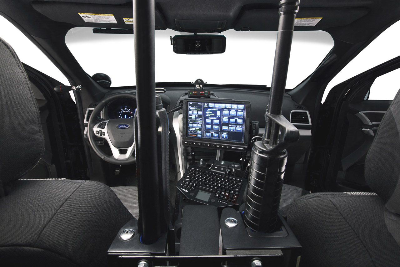 Ford presents explorer police interceptor utility