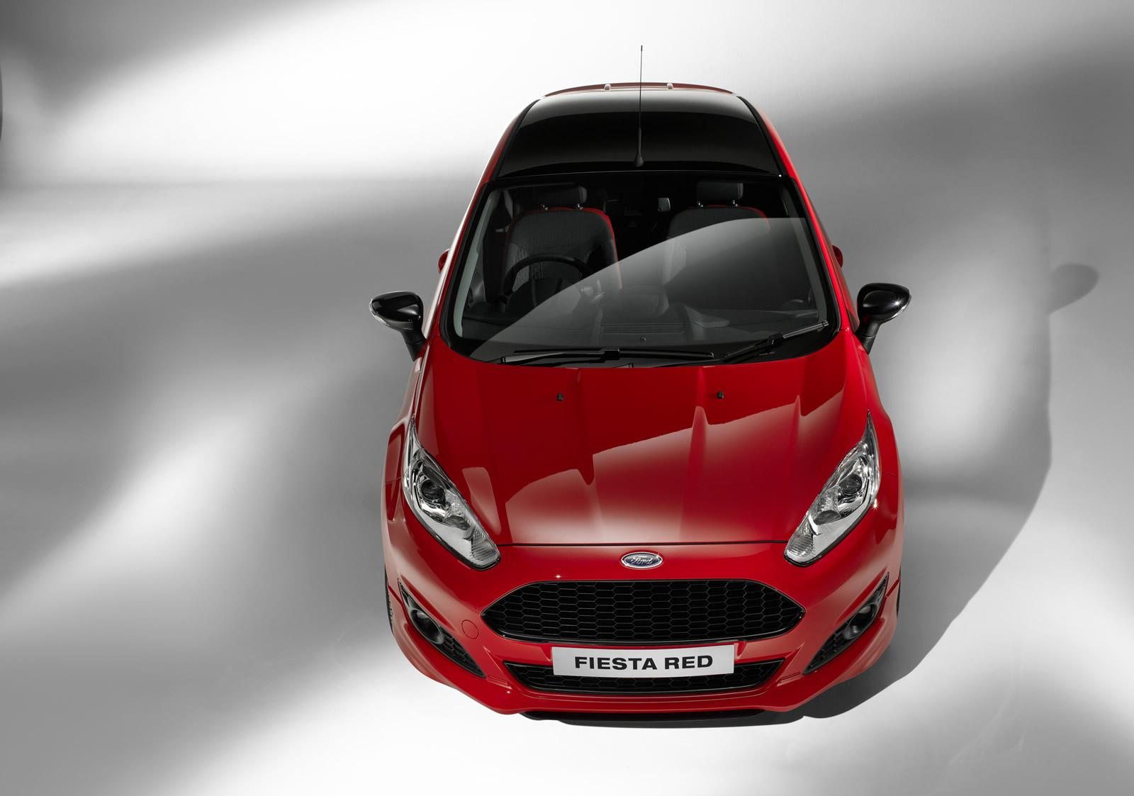 ford pushes 1l ecoboost to 140 hp launches fiesta red black editions video autoevolution. Black Bedroom Furniture Sets. Home Design Ideas