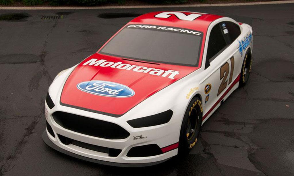Ford Racing Unveils 2013 NASCAR Fusion Paint Scheme ...