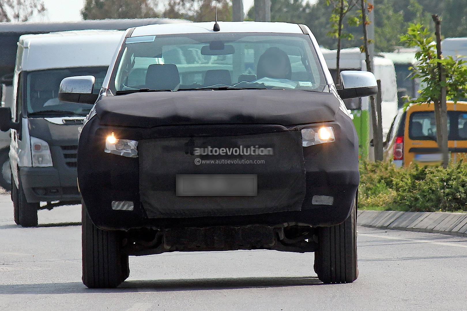 Ford Ranger Facelift Sheds Some Camo Autoevolution