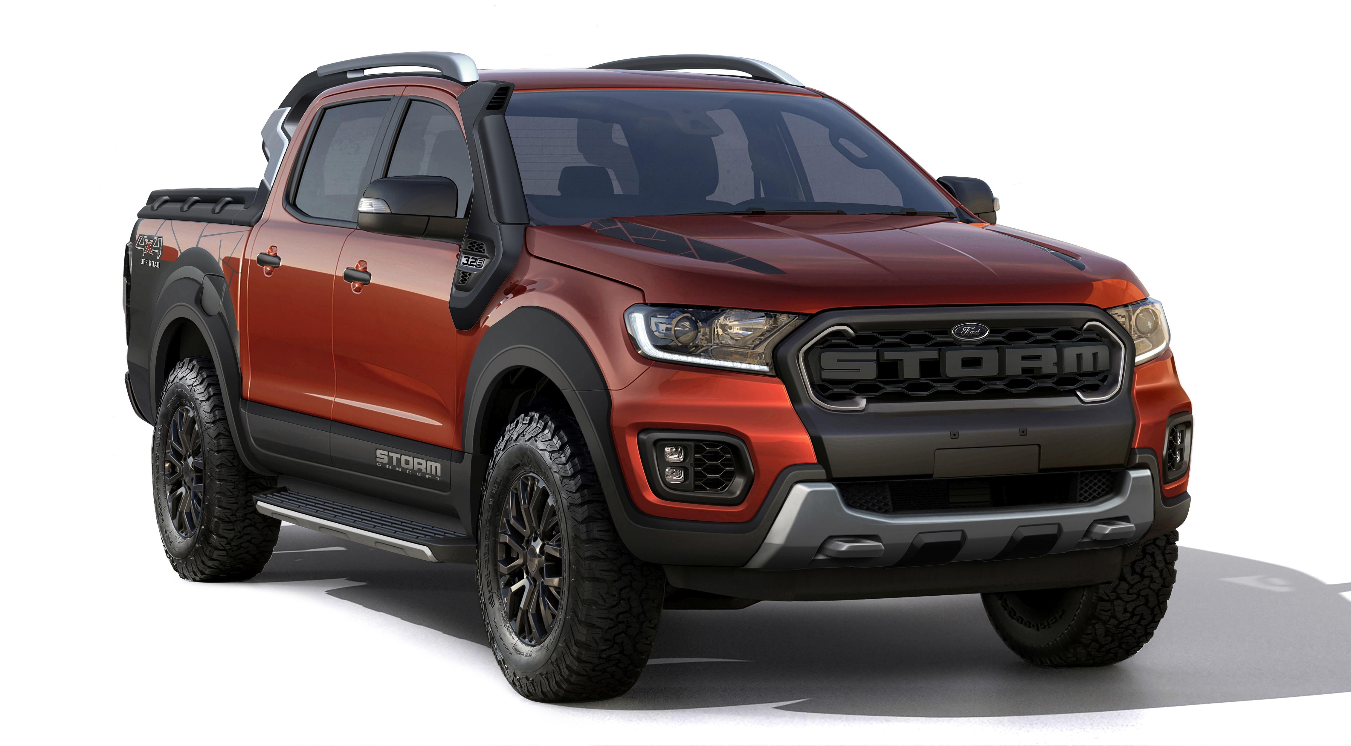 Ford Ranger Storm Concept Looks Like A Budget Minded Ranger Raptor