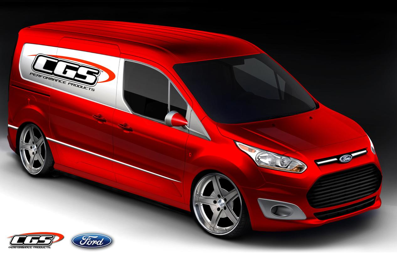 Ford Readying 10 Custom Transit Connect Vans For Sema