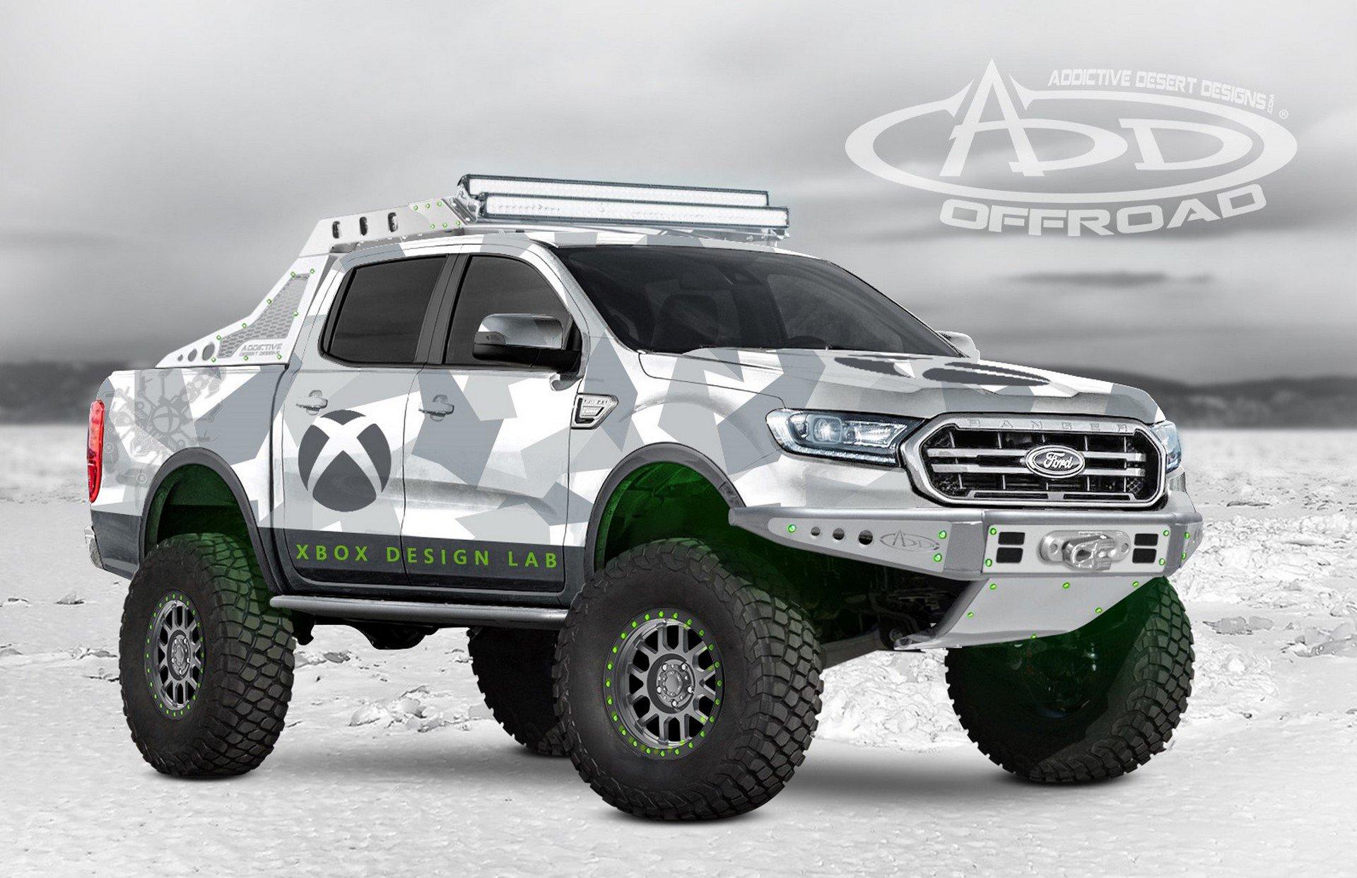 Fox Auto Parts >> Ford Reveals 2019 Ranger Concept Trucks At SEMA Show ...