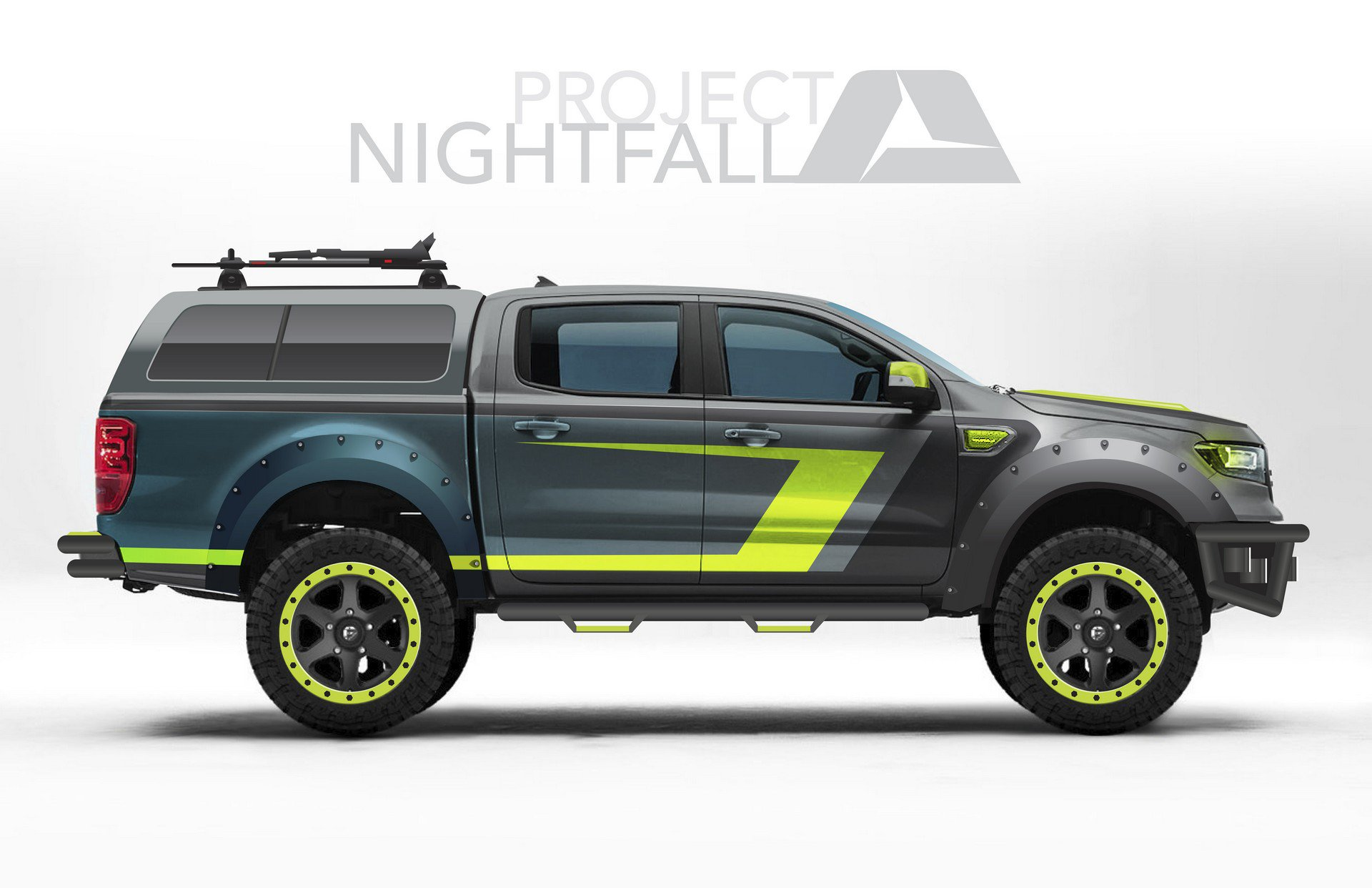 Ford Reveals 2019 Ranger Concept Trucks At Sema Show