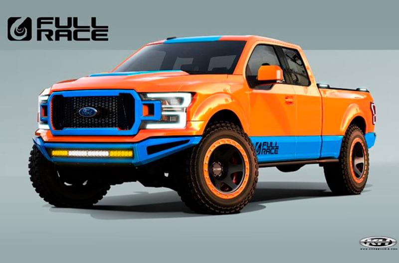 Ford F150 Lift >> Ford Reveals 2019 Ranger Concept Trucks At SEMA Show - autoevolution