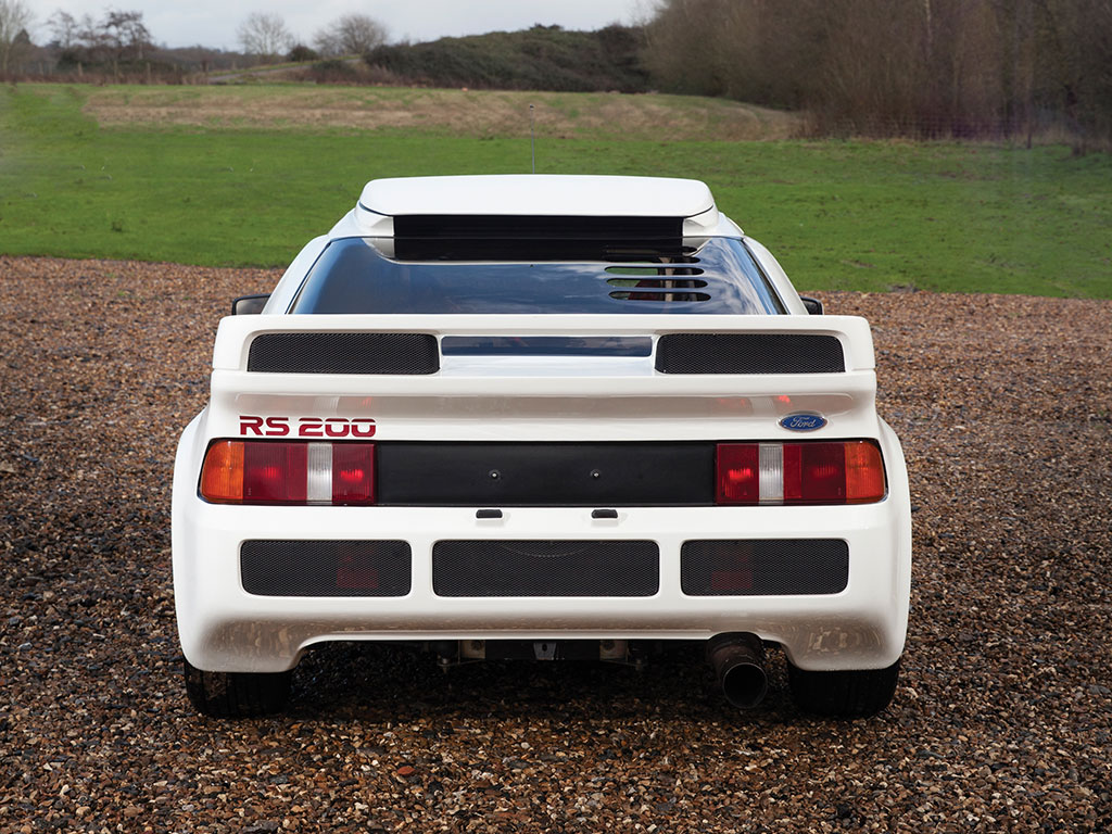 Ford Rs200 Evolution Heading To Amelia Island Auction