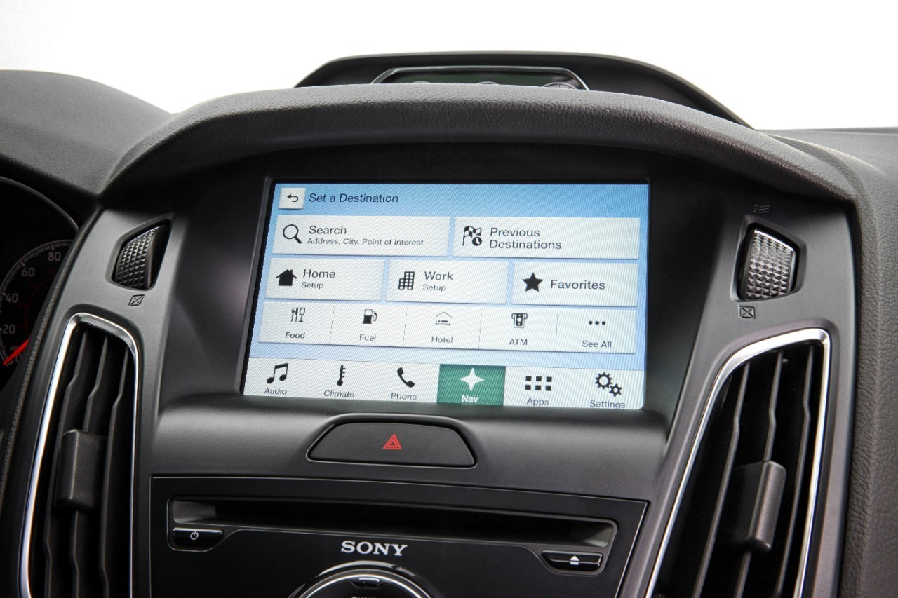 ford 39 s sync 3 will feature apple carplay and android auto. Black Bedroom Furniture Sets. Home Design Ideas