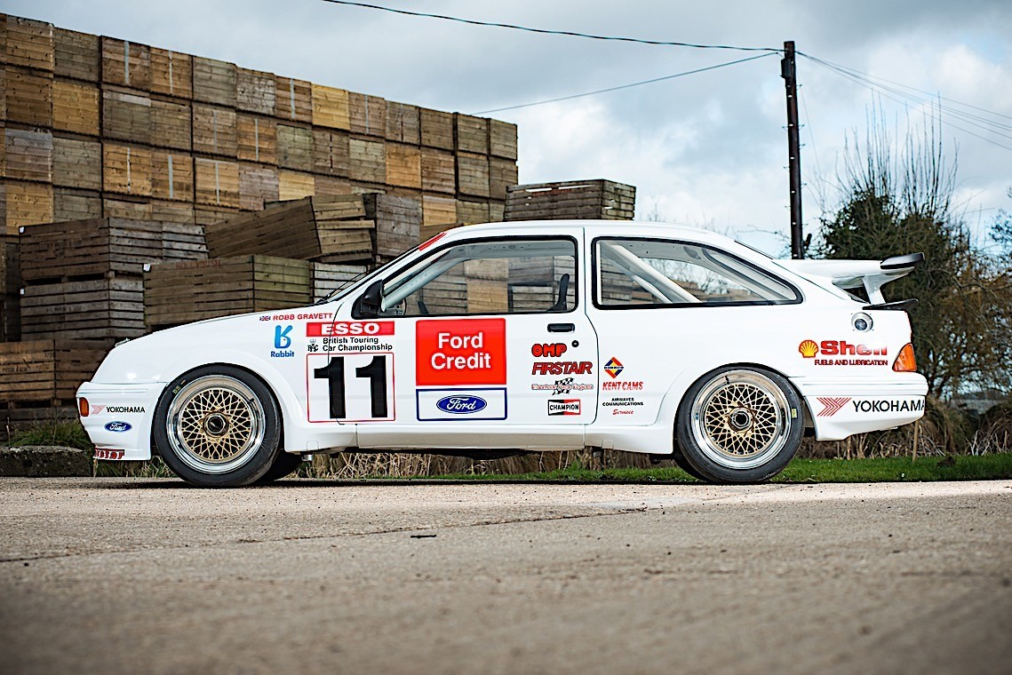 ford sierra cosworth rs500 in 1990s racing livery to sell. Black Bedroom Furniture Sets. Home Design Ideas