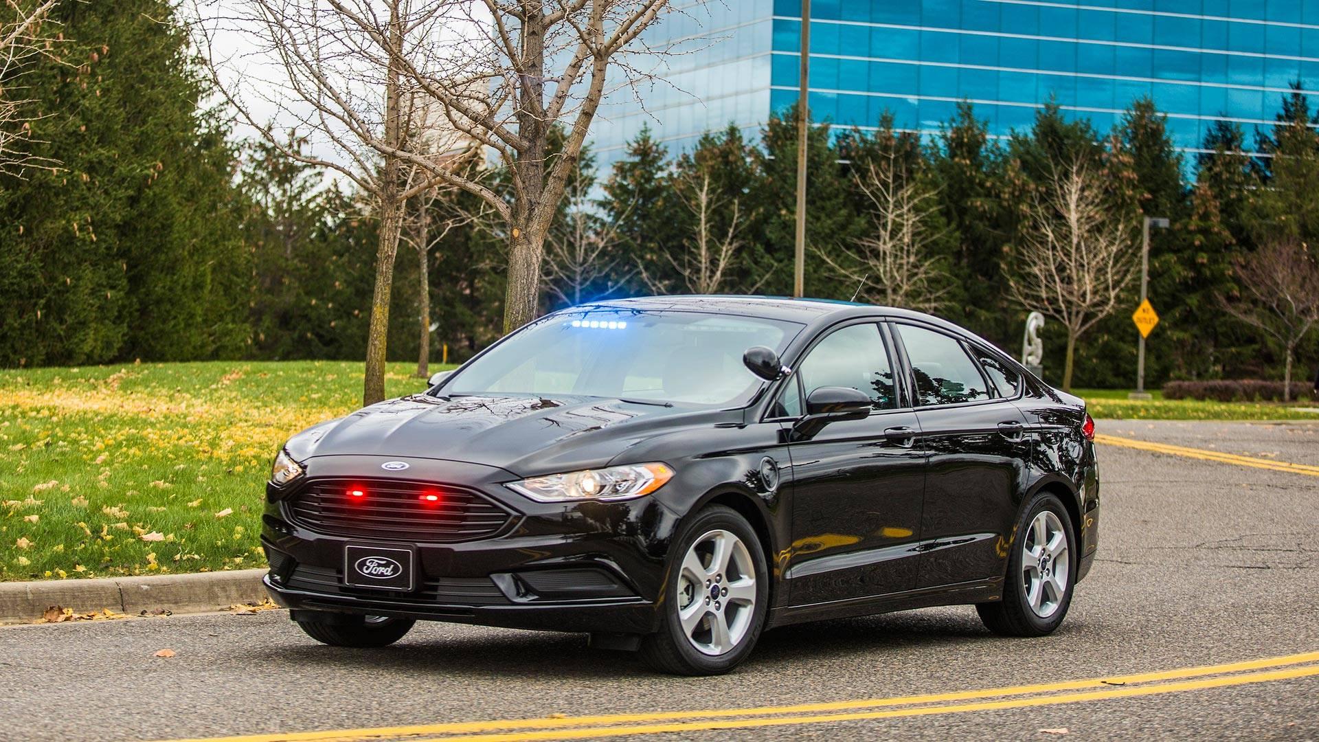 Ford Special Service Plug In Hybrid Sedan