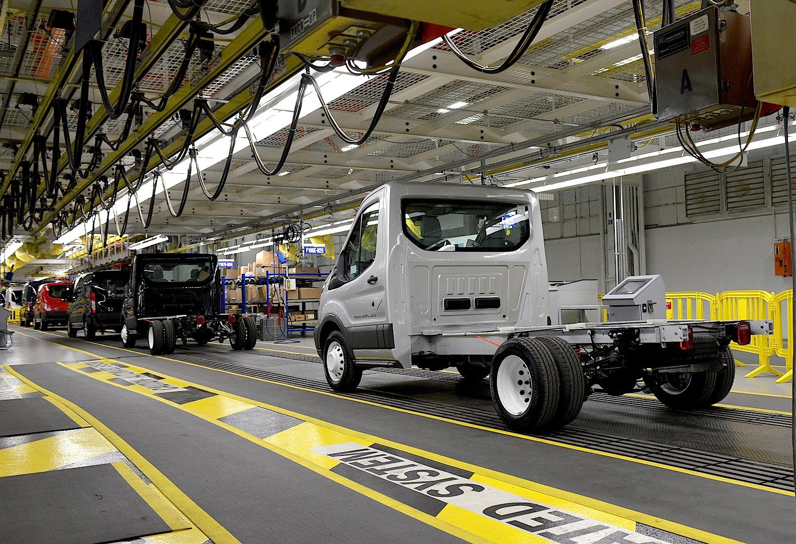 Ford Starts 2015 Transit Van Production Autoevolution