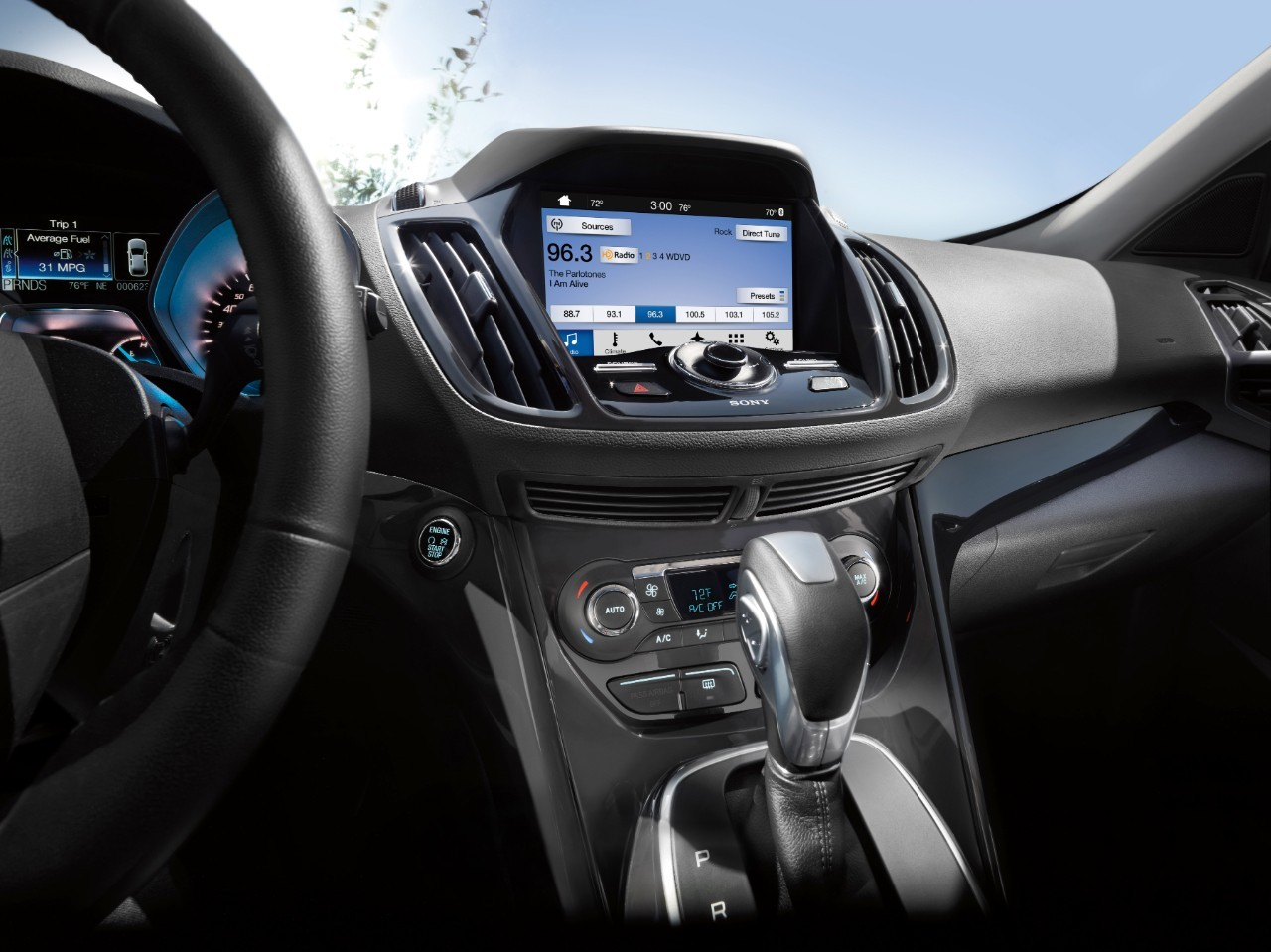 Ford Sync 3 Infotainment To Debut On The 2016 Ford Escape And