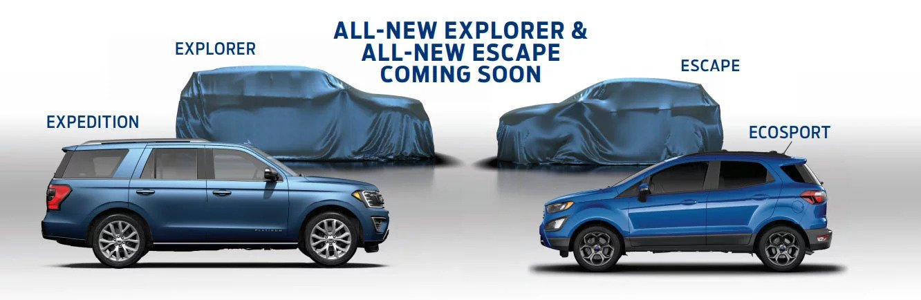 Ford Teases Hybrid Plug In Future Suv Lineup Explorer Escape Expedition