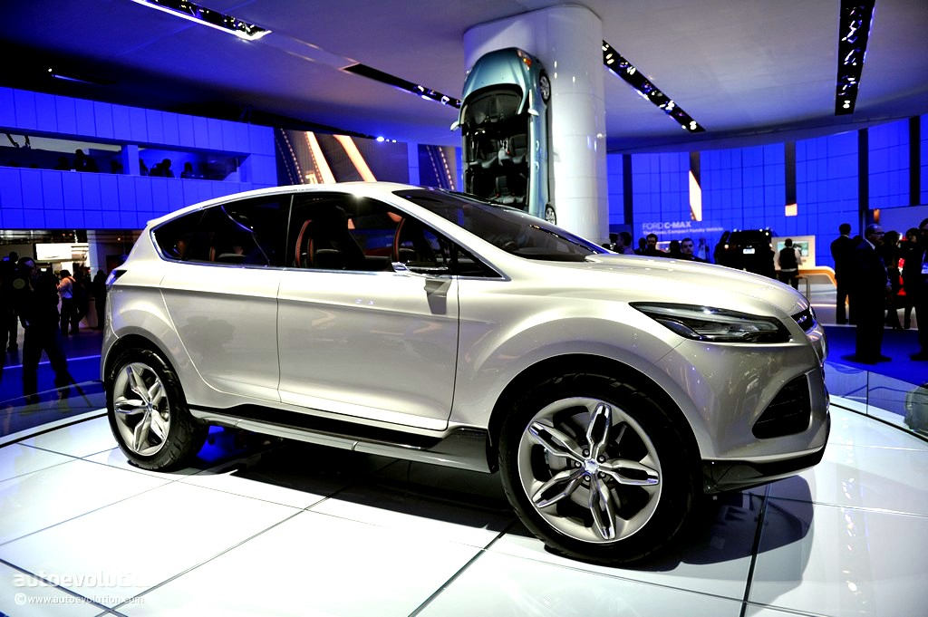ford to build vertrek out of kuga and escape autoevolution. Black Bedroom Furniture Sets. Home Design Ideas