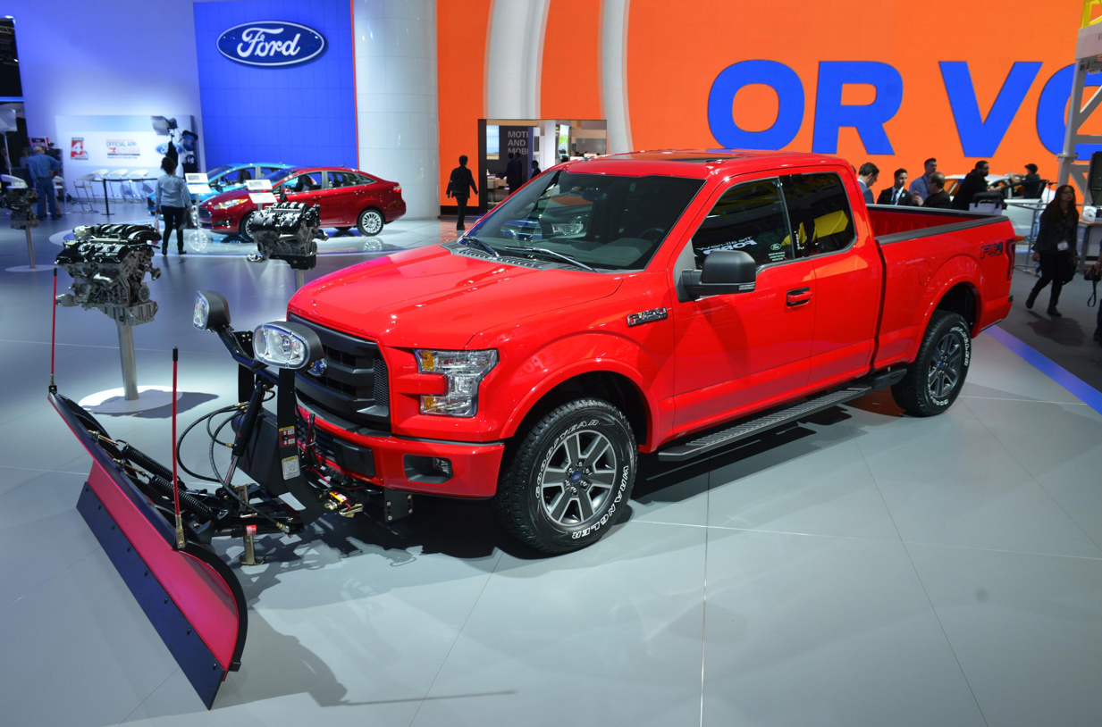 Ford to Offer Snow Plow Prep Option for 2015 F-150 Truck ...