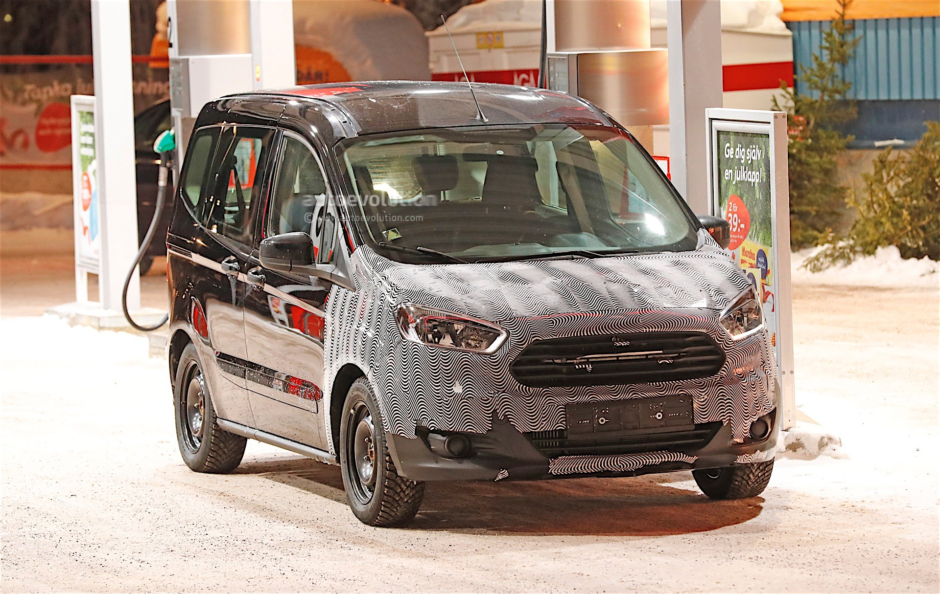 2018 Ford Tourneo Courier Facelift Spied Almost Undisguised ... Ford Tourneo Courier on ford expedition, ford torino, ford f-250, ford ecosport, ford cougar, ford taurus, ford f350, ford fiesta, ford fusion, ford courier, ford focus, ford e-series, ford connect, ford granada, ford caravan red, ford mondeo, ford explorer, ford transit, ford tempo, ford flex,