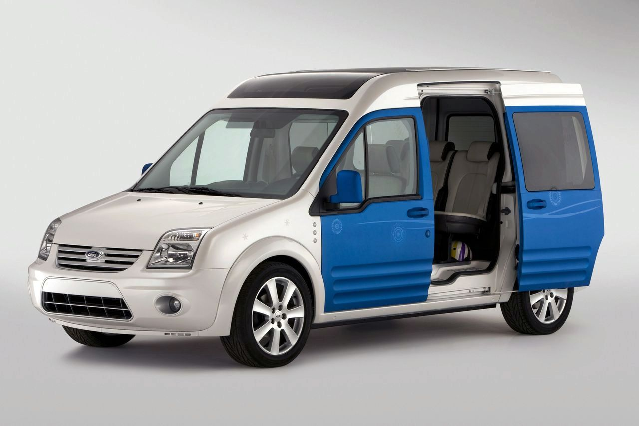 ford transit connect family one concept goes in new york. Black Bedroom Furniture Sets. Home Design Ideas