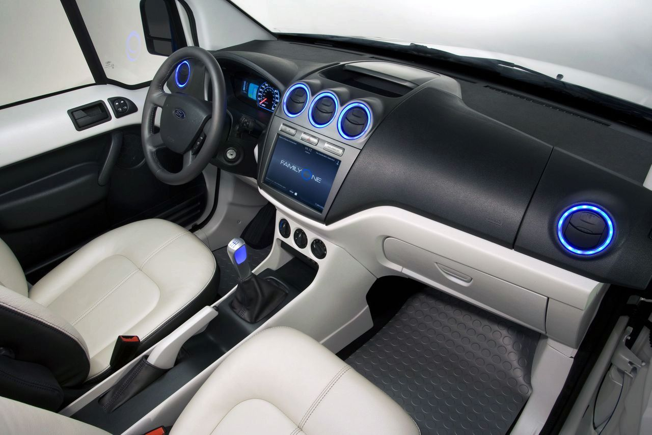 Ford Excursion Mpg >> Ford Transit Connect Family One Concept Goes in New York ...
