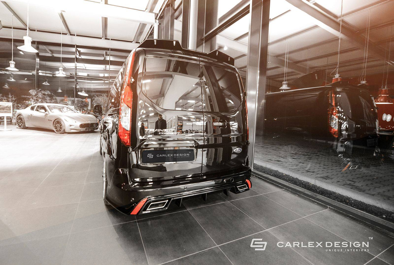 Ford Transit Connect Gets Tuning Body Kit From Carlex
