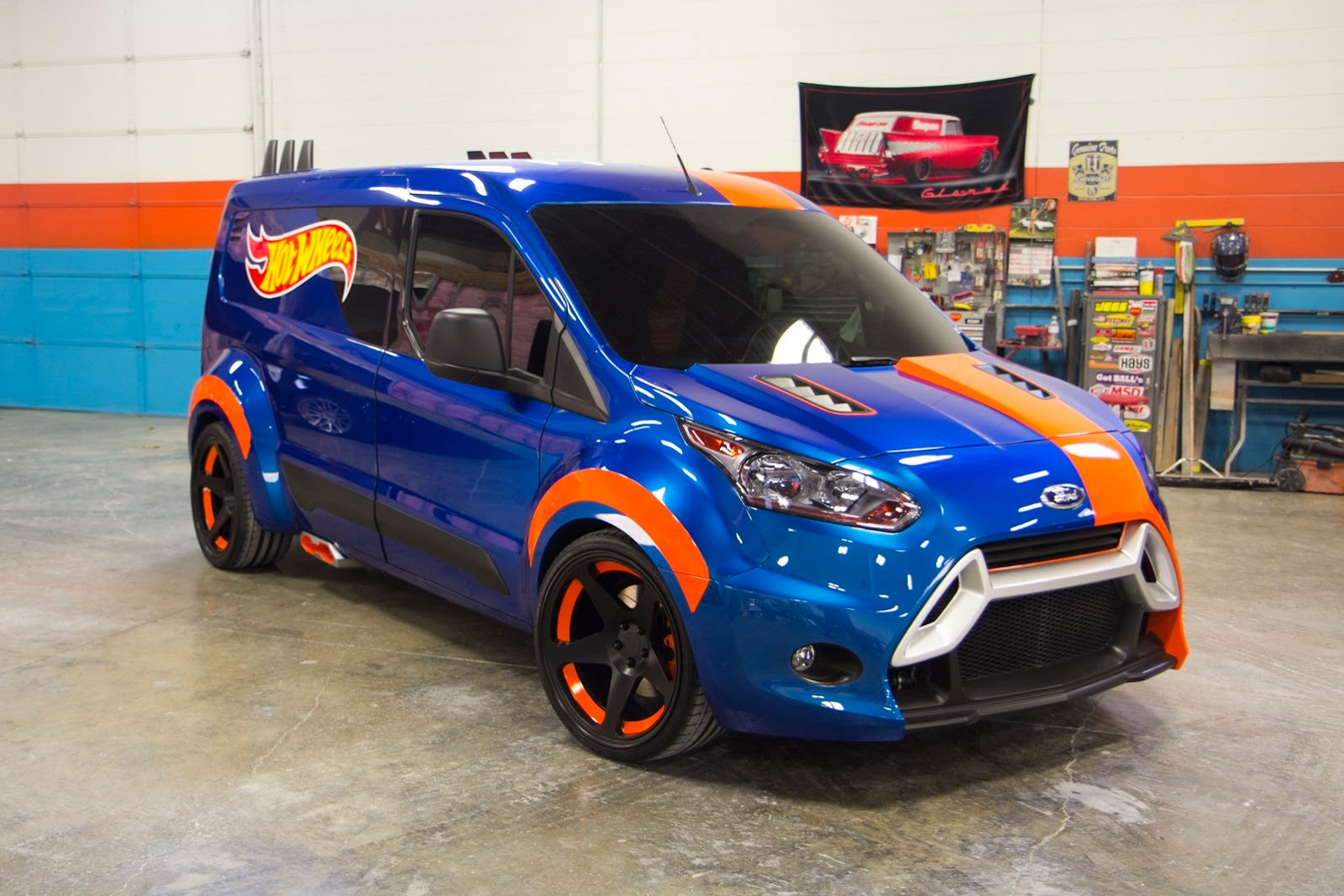 Ford Transit Connect Hot Wheels Concept Is A Race Ready