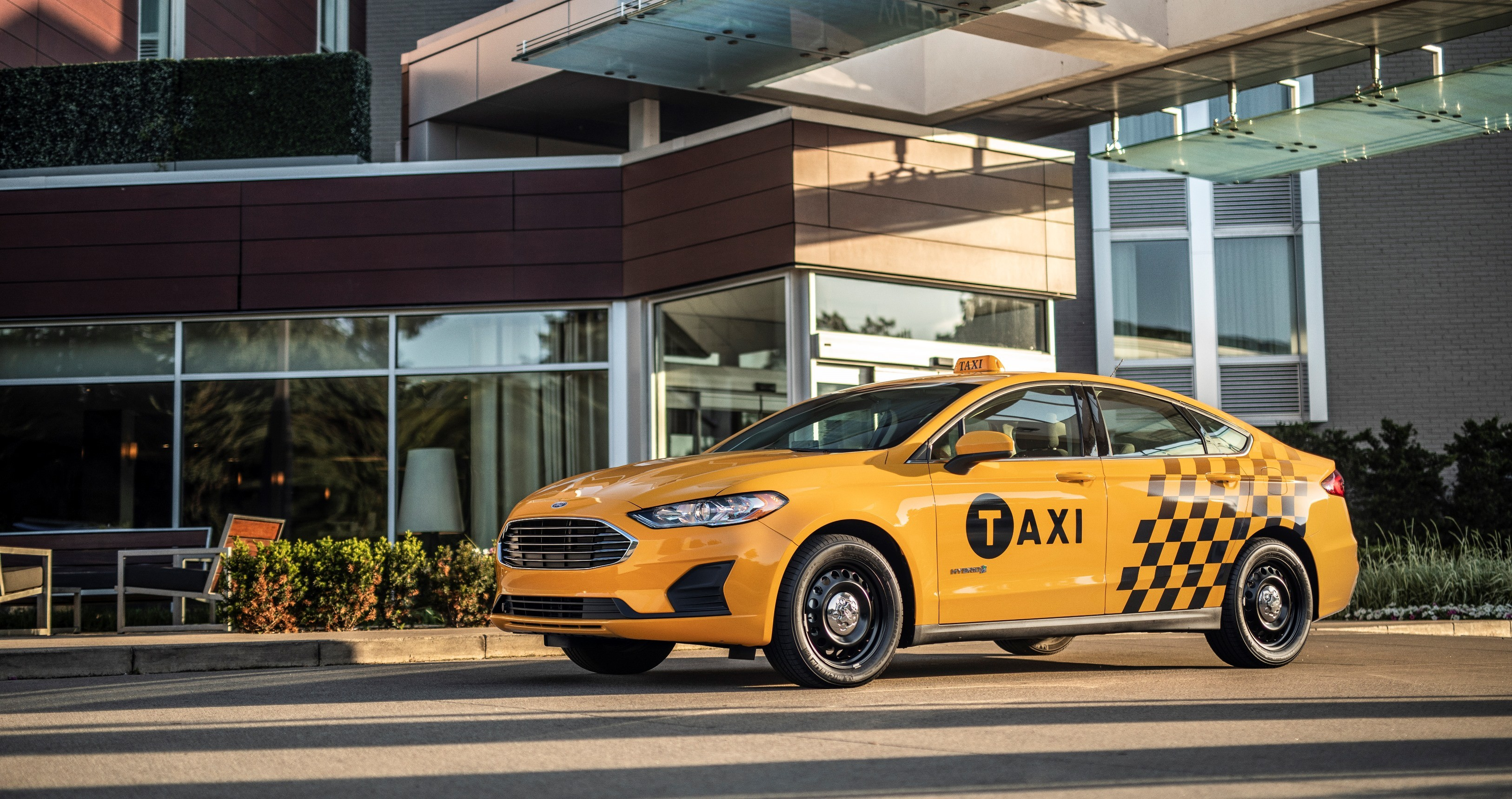 Ford Transit Connect Van >> Ford Unveils Fusion Hybrid Taxi, Transit Connect Diesel Taxi For the U.S. Market - autoevolution