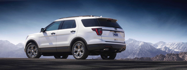 Ford Updates Explorer For 2018, Platinum Model Features Quad Exhaust Tips - autoevolution
