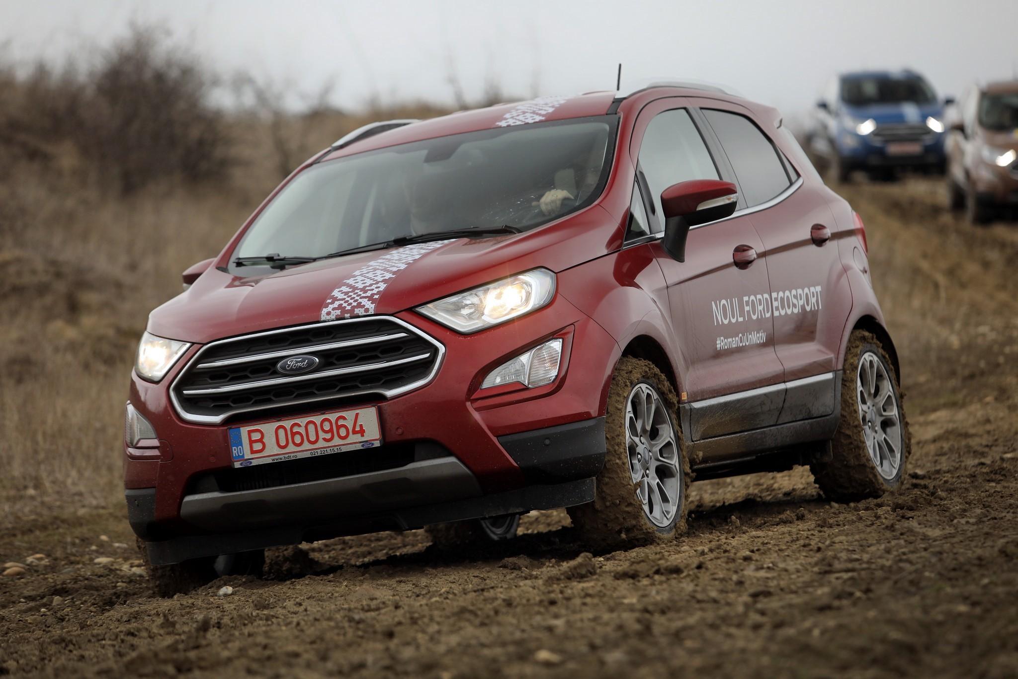 2018 Ford Ecosport European Model