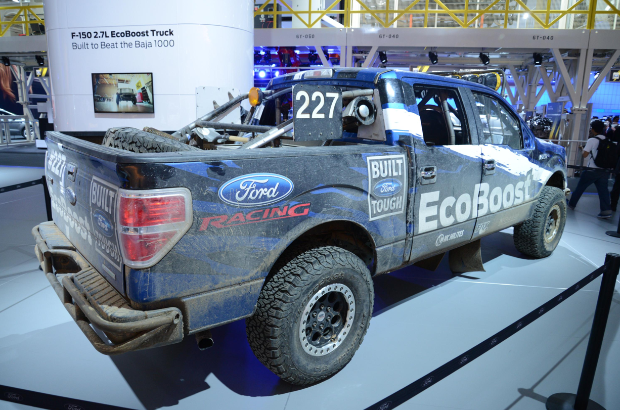 ford s new 2 7 ecoboost engine arrives in detroit in baja. Black Bedroom Furniture Sets. Home Design Ideas