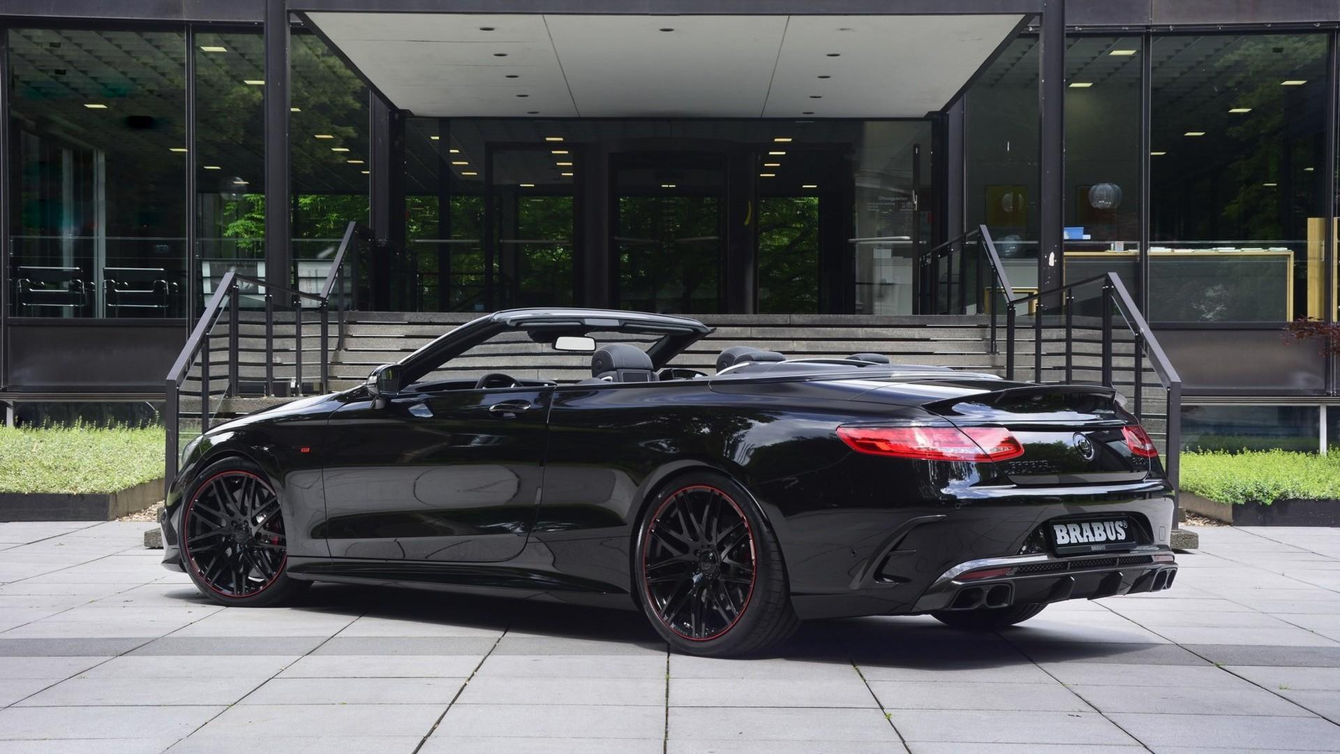 forget the s65, brabus unveils 850 hp mercedes amg s63 cabriobrabus 850 6 0 biturbo cabrio