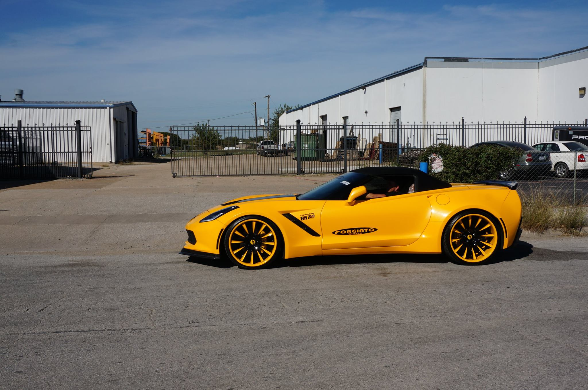 Forgiato Widebody Corvette Takes A 750 Hp Stroll