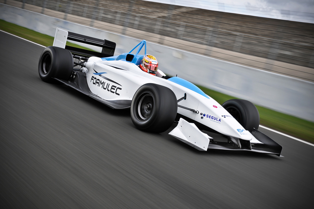 Formulec Ef01 All Electric Racing Series Announced