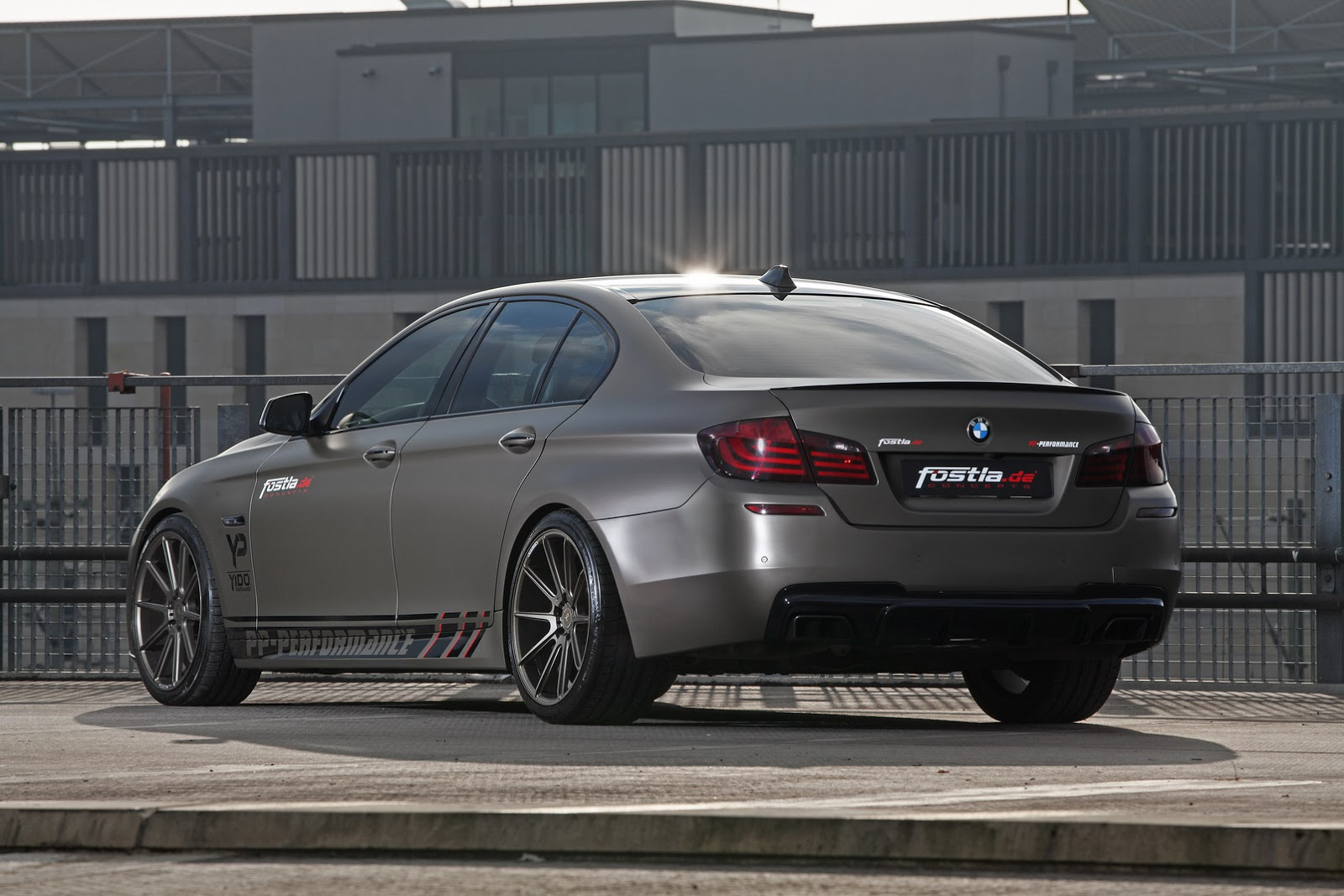 Fostla Bmw 550i Has 570 Hp And 800 Nm Autoevolution