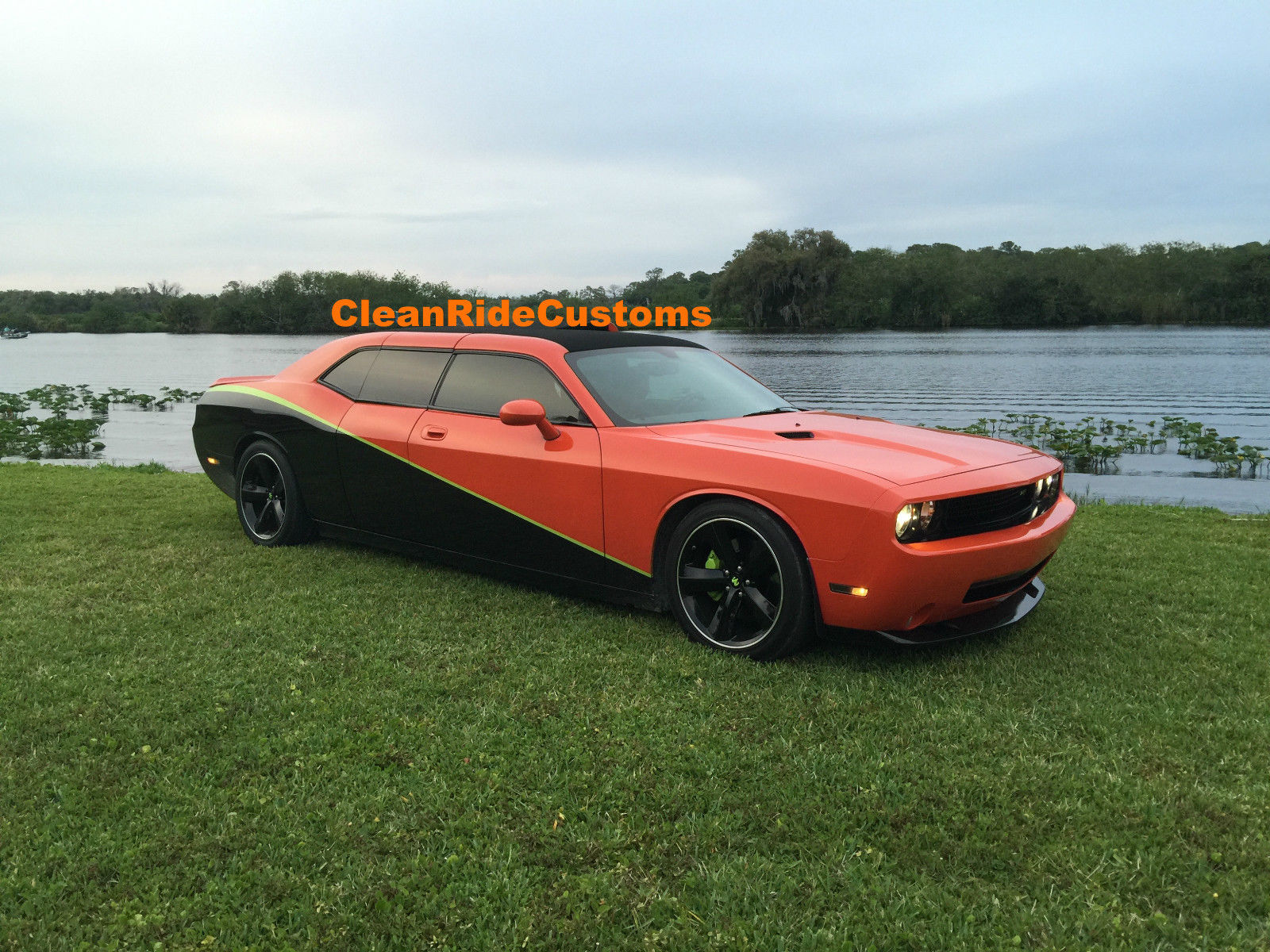 four door dodge challenger srt8 has rear gullwing doors for sale at 250 000 autoevolution. Black Bedroom Furniture Sets. Home Design Ideas