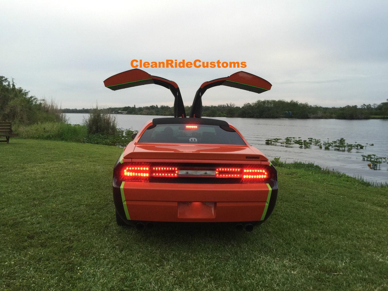 ... Four-Door Dodge Challenger SRT8 \  ... & Four-Door Dodge Challenger SRT8 Has Rear Gullwing Doors for Sale at ...