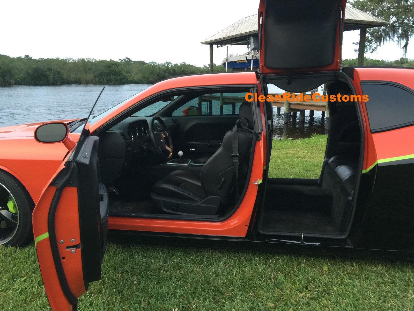 ... Four-Door Dodge Challenger SRT8   ... & Four-Door Dodge Challenger SRT8 Has Rear Gullwing Doors for Sale ... pezcame.com