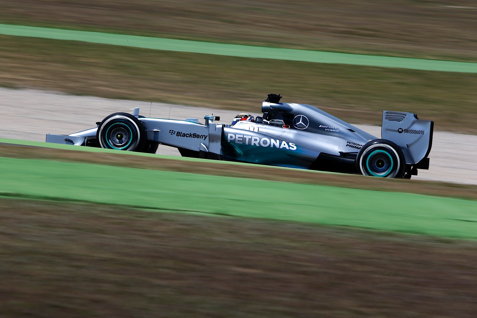 fourth mercedes amg petronas double in a row after spanish gp autoevolution. Black Bedroom Furniture Sets. Home Design Ideas