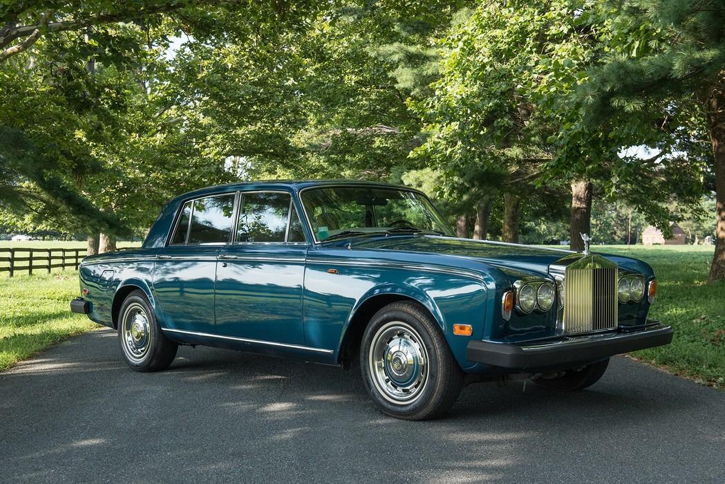 Frank Sinatras 1976 Jaguar Xj-S And His Wifes 1976 Rolls-9207