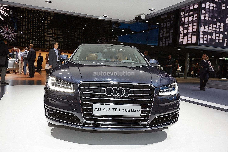 Audi A8 Official Sketch | Gipetrou