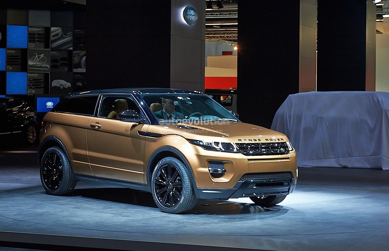 Frankfurt 2013 2014 Range Rover Evoque Live Photos