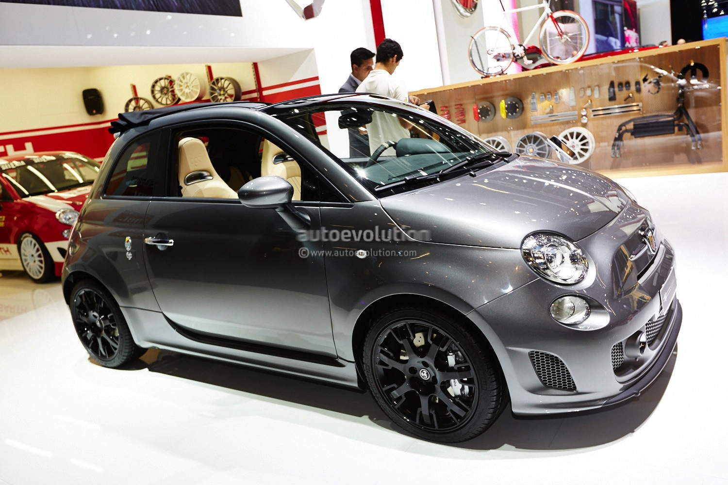 Frankfurt Abarth Tributo Maserati In Record Grey Live Photos