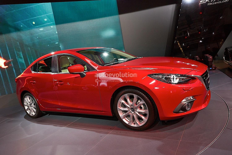 Frankfurt 2013 All New Mazda3 Hatch And Sedan Live