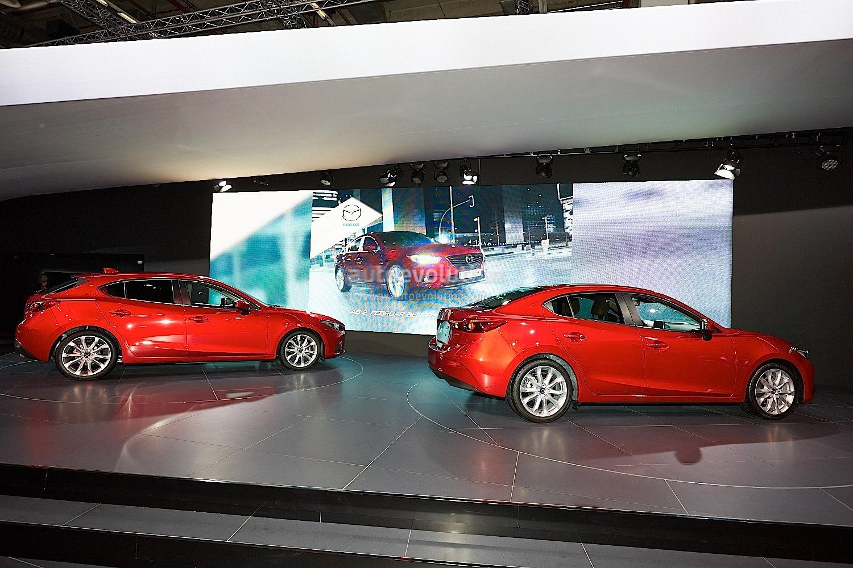 Frankfurt 2013: All-New Mazda3 Hatch and Sedan [Live ...