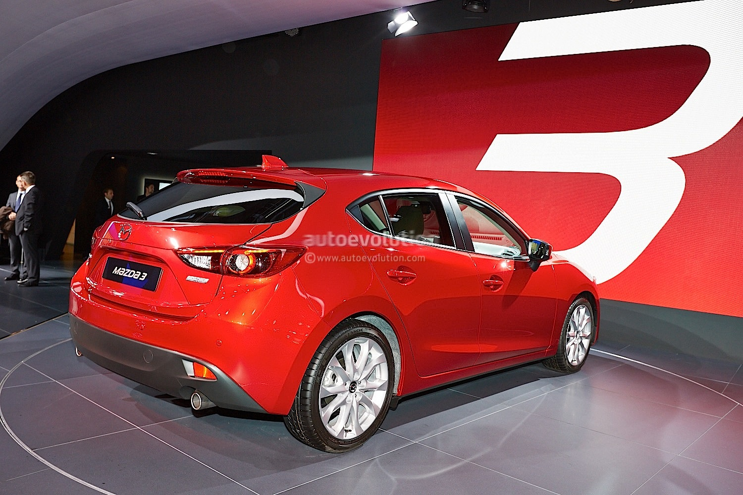 frankfurt 2013 all new mazda3 hatch and sedan live. Black Bedroom Furniture Sets. Home Design Ideas