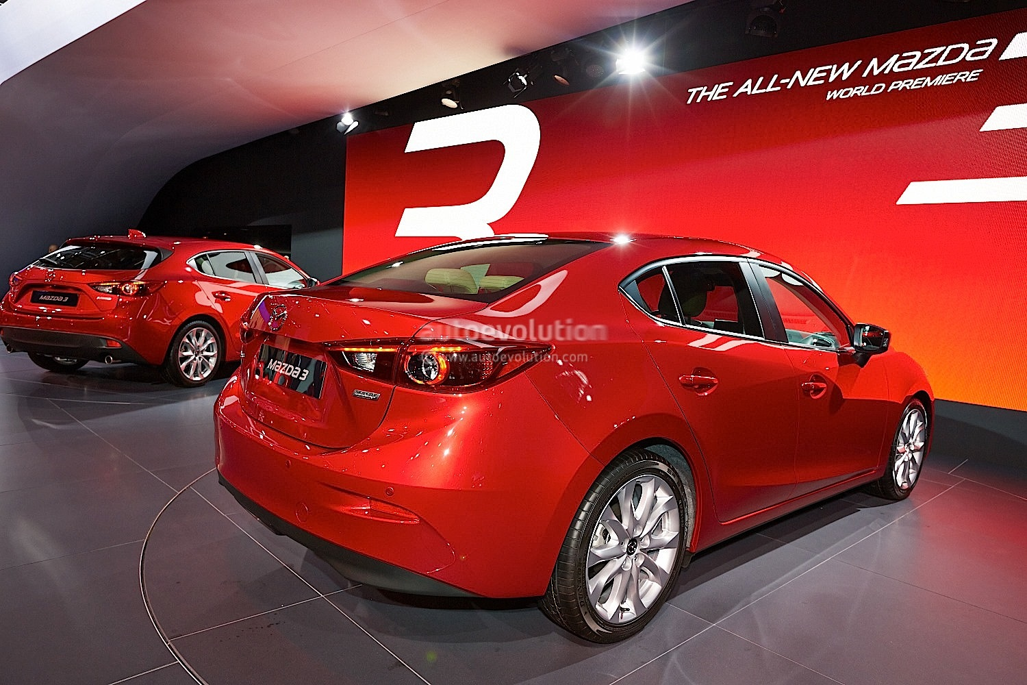 Frankfurt 2013: All-New Mazda3 Hatch and Sedan [Live ...