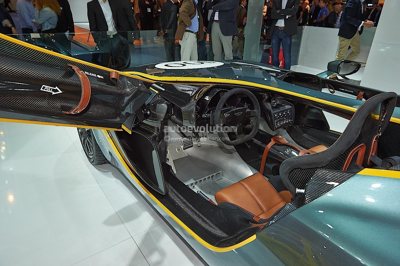 Aston Martin CC100 Speedster at Frankfurt - photo gallery